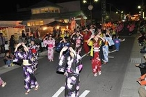 秋祭り 軽米流し踊り