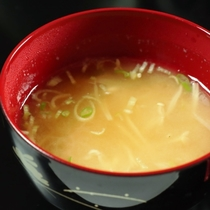 朝食 ~お味噌汁~