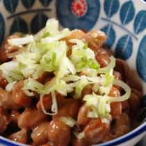 朝食 ~納豆~