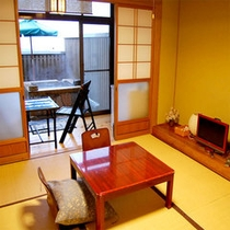 竹の間(露天風呂付)