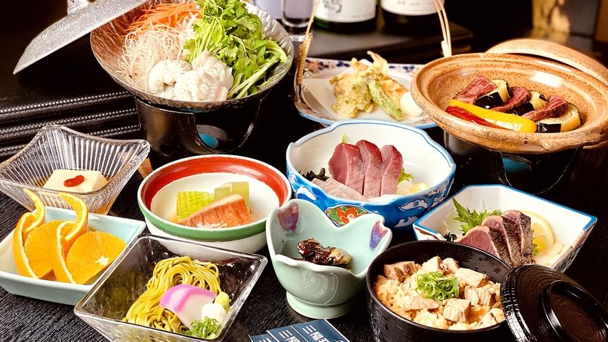 料理_2021夏_黒潮の恵みコース