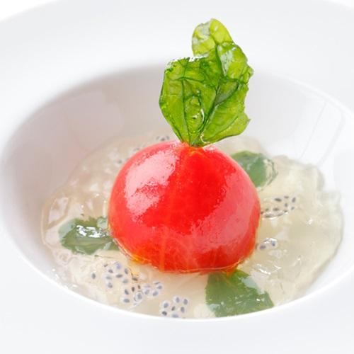 ロワール フレンチ 料理一例