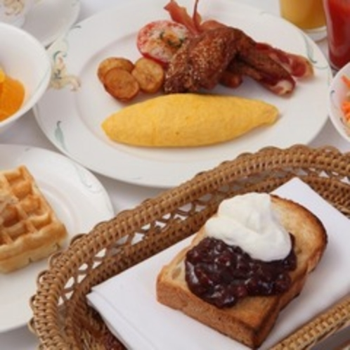 BM朝食バイキング