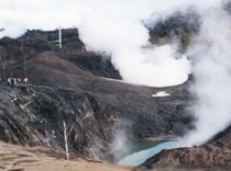 西山噴火口