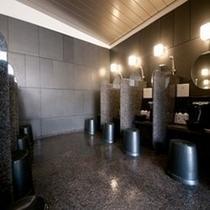 天然温泉「秀長の湯」  洗い場