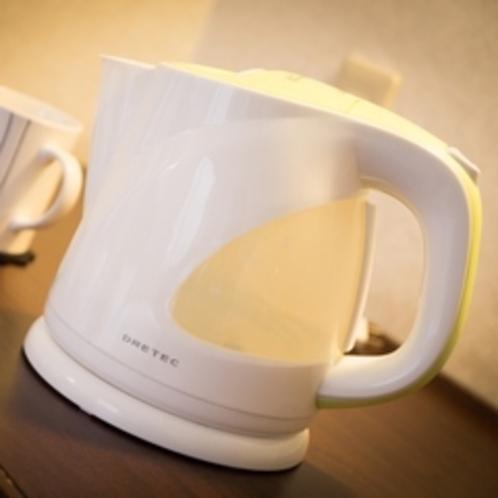 電気ケトル インスタントラーメンを作ったり、お茶飲んだり・・・♪