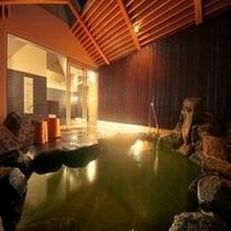 天然温泉「秀長の湯」 露天風呂(男湯)