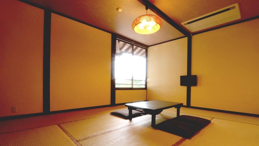【和室8畳】シンプルで少しノスタルジックな和の空間です。