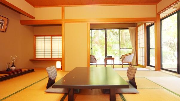 中庭付き純和風 12.5畳(バス・トイレ付)
