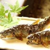 成魚鮎塩焼き