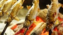 鮎塩焼き(鮎料理コース)