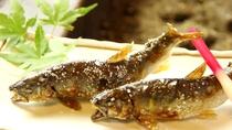 成魚塩焼き(鮎料理コース)