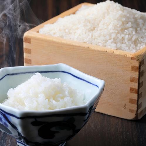 契約の農家のお米をお出ししています。