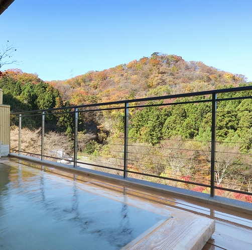 【雲上の湯】露天風呂