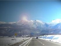 The Road to NOAMNOMORI in Winter