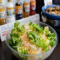 有機JAS認定野菜使用のサラダ
