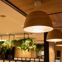 心地よい照度の照明がお客様を心地よい眠りに誘います♪