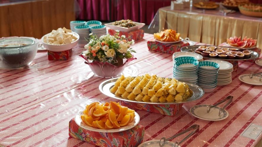 デザート一例/お食事のあとはデザートバイキング♪
