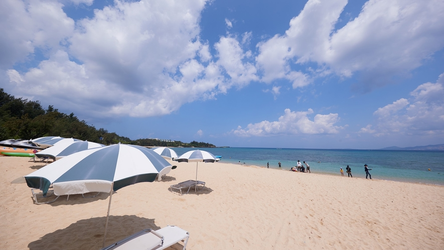 海/どこまでも広がる蒼い海。南国リゾートで癒しの休日をお過ごしください