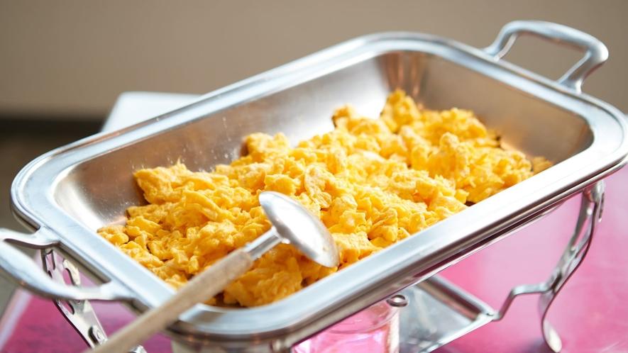 ご朝食一例/ふわふわのスクランブルエッグ♪