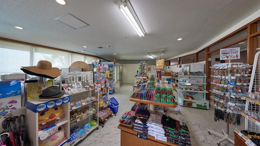 店内売店(午前7時~午後10時まで営業しております)