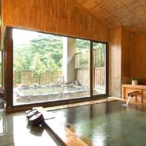 天城の檜風呂