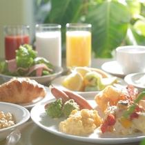 【ビストロブルゴーニュ】朝食バイキング