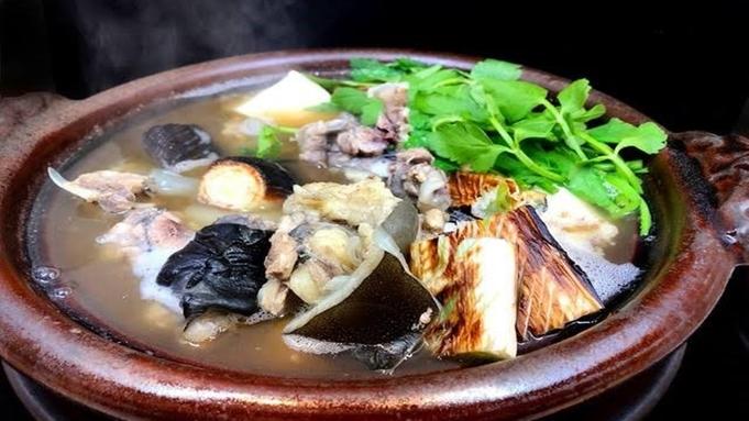■すっぽん鍋■絶品&コラーゲンがたっぷりなすっぽん鍋会席♪2食付きプラン