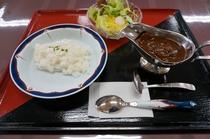 選べる夕食プランのカレーのお写真です。