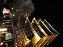 八坂の塔ライトアップ