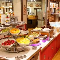 【夕食ブッフェ】デザートメニューも充実◎お好きなものをお好きなだけ!
