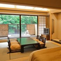 露天風呂付き和室 44平米(禁煙/和室12畳1間) 客室露天風呂(イメージ) 客室露天風呂(イメージ