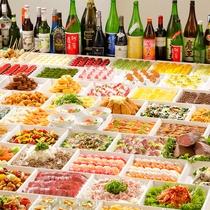 【夕食ブッフェ】季節の食材や人気メニューを多数取り揃え!