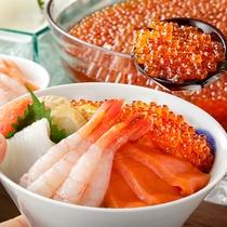 【朝食ブッフェ】新鮮な海鮮丼が食べ放題!