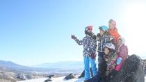 *パノラマコースから八子ヶ峰の山頂へ上るとこんな景色です!