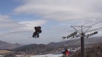 *まるで白樺湖へ向かってジャンプするような感覚!