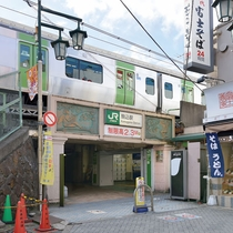 JR山の手線「駒込駅」東口より徒歩1分