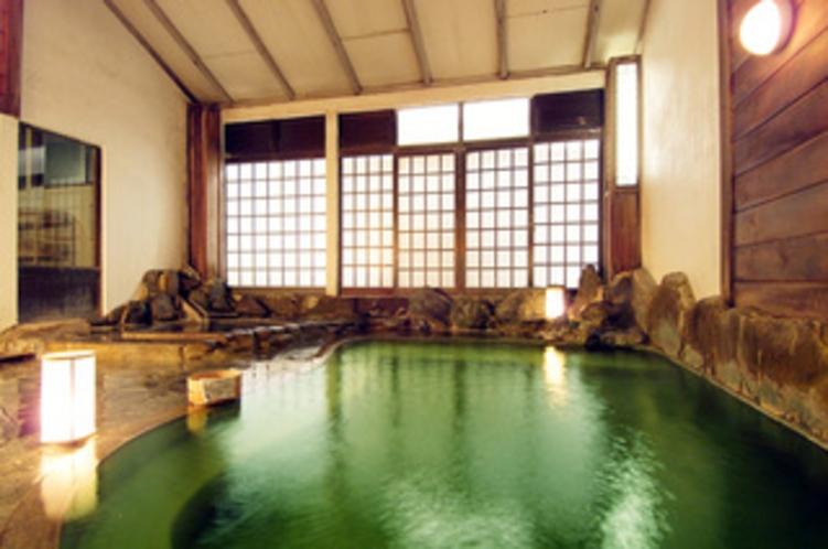 内風呂・うなぎ湯大浴場