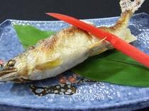 松原鮎の塩焼き