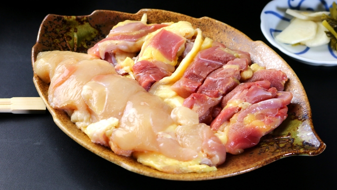 【淡海地鶏鍋プラン】堅田産◆淡海地鶏を思う存分味わう♪【1泊2食付き】