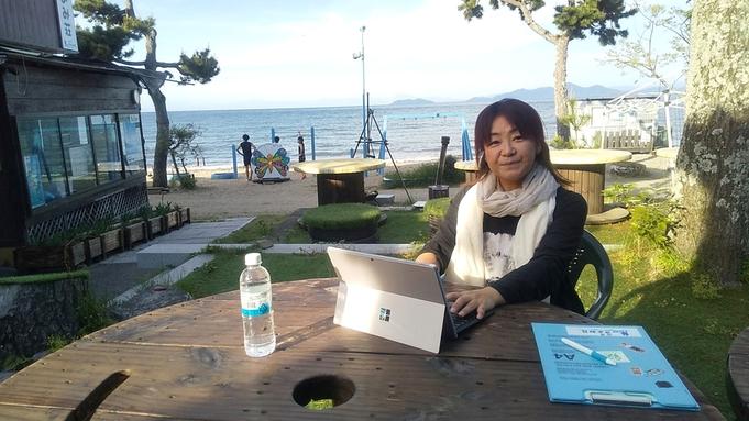 【素泊まり】2泊3日・ワーケーション体験☆琵琶湖畔で新しい働き方をご提案!Wi-Fi有・昼の滞在OK