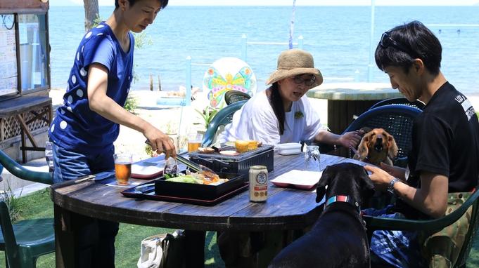 【夏限定!!1泊2食付き】きよみ荘のスタッフでBBQをするときは、これ!!淡海地鶏炭火焼プラン