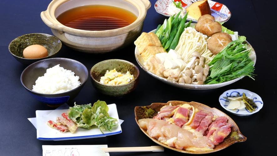 ◇【淡海地鶏鍋】きよみ荘イチオシの淡海地鶏鍋