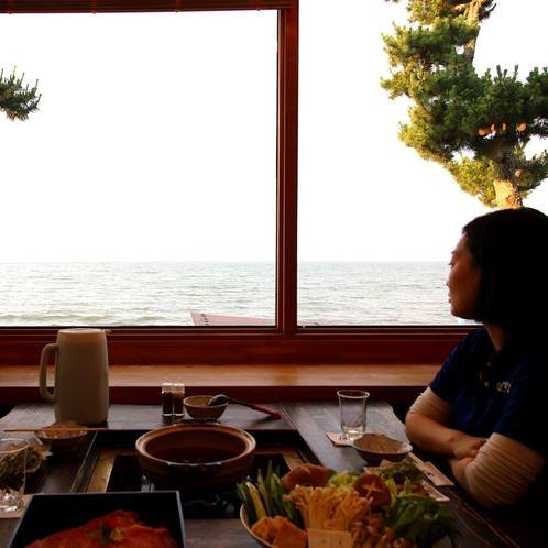 ★夜の琵琶湖を眺めながらしっぽりと…