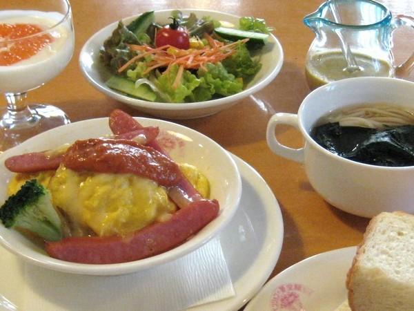 10品の朝食−1例