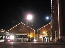 金森倉庫群のライトアップ