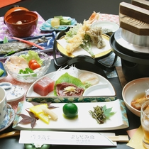 こだわりが濃縮された梅ヶ島の田舎料理を満喫♪