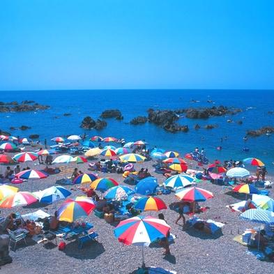 【特典付き!】【夏休み限定】土曜日も平日と同料金!海水浴へGO!夕食は新鮮な海の幸を満喫☆