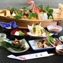 【スタンダード】船盛メインと旬の食材で越前の季節の味覚を満喫!