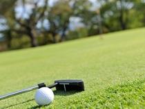 【ゴルフ場】豪快さと繊細さを兼ね備えた18ホール